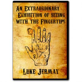 An Extraordinary Exhibition of Seeing with the Fingertips by Luke Jermay