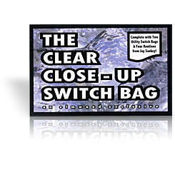 Clear Close Up Switch Bag