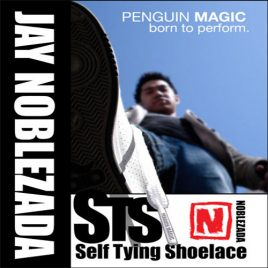 Self Tying Shoelace by Jay Noblezada